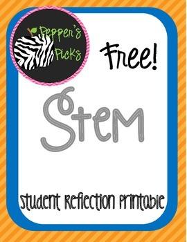 Free STEM Lab Reflection Printables