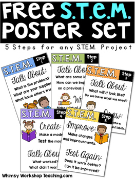 Free STEM Posters