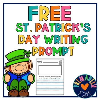 Free Saint Patrick's Day Writing Prompt