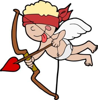 Free Saint Valentine's Day clipart - Clipart del día de San Valentín Gratis