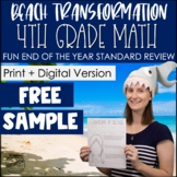 Free Sample 4th Grade Math Test Prep | Math Spiral Review