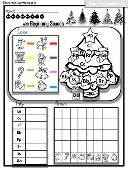 Free Sample! Christmas Literacy Centers