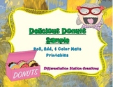 Free Sample! Delicious Donuts: Roll, Add, & Color