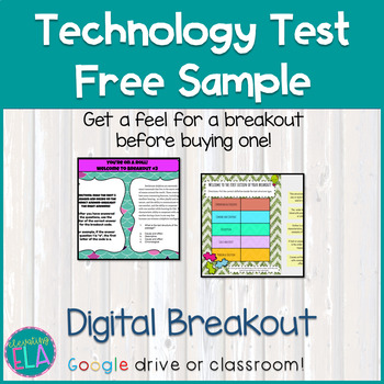 Digital Breakout - Free Sample
