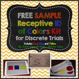 Free Sample Discrete Trial Kit: Receptive ID of Colors (Au