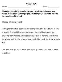 sample of long story