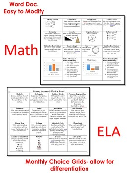 Free Sample First Grade Journeys Lesson 3 Plans, Spelling, HW Grid