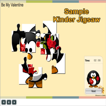 Interactive Jigsaw for Kinder Free