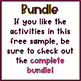 Free Preschool Vocabulary Activity Packet