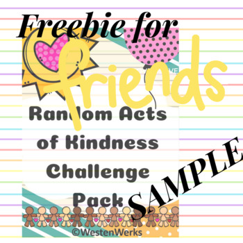 Free Sample Random Acts of Kindness Challenge Pack