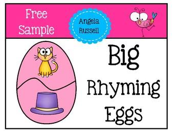 Free Sample - Rhyming Eggs