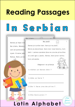 Free Sample Serbian Reading Passages - Latin Alphabet