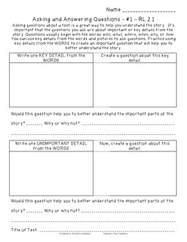 {Free Sample} Reading Comprehension: Sheets That Teach (2nd Grade - Common Core)