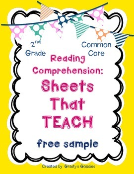 {Free Sample} Reading Comprehension: Sheets That Teach (2n