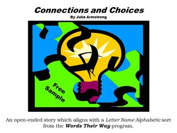 "Free Sample:""The War of Words"" from ""Words Their Way"" stories (LNA stage) book 1"