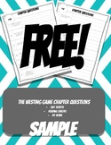 Free Sample- The Westing Game Chapter Questions