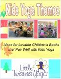 Free Sample Thematic Kids Yoga Teaching Calendar