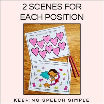 Free Sample Valentine Speech No Prep Worksheets - S