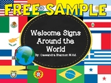 Free Sample! Welcome Signs - In Different Languages