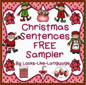 Christmas Sentences Compare/Contrast Homework