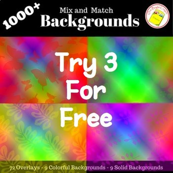 Free Sample from Colorful, Creative and Fun Backgrounds