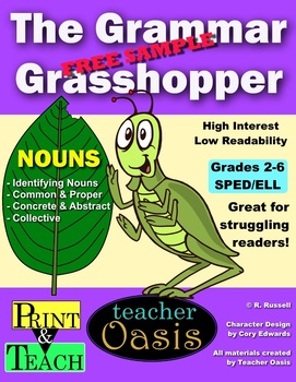 Free Sample from The Grammar Grasshopper: Nouns