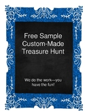 Free Sample of Custom-Made Treasure Hunt