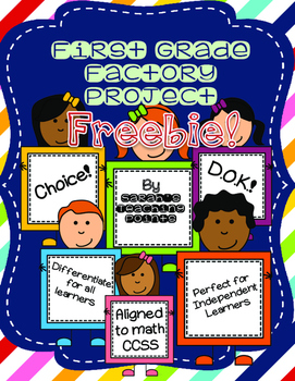 Free Sample of First Grade Independent Project -- CCSS!