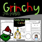 Free Sample of Grinchy Week