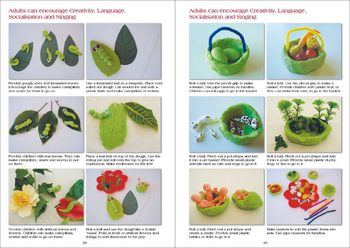 Free Sample of Playdough Literacy and Maths Ideas