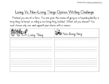 "Free Sample of ""Living and Non-Living Things"""