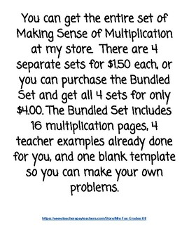 Sample 2 x 2 Digit Multiplication: Groups of, Distributive Property, Area Model