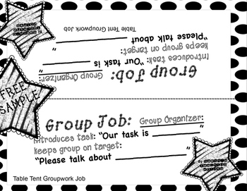 Free Sample of Group Math Talks! Scaffold lessons with students as teachers!
