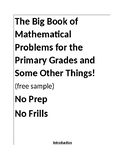 Free Sample of the Big Book of Mathematical Problems