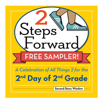 Free Sampler 2nd Day of 2nd Grade • Back to School Activities