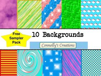 Free Sampler Backgrounds