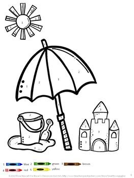 Free Sampler,Math Literacy Bundle, Early Childhood,Special Ed, Summer School
