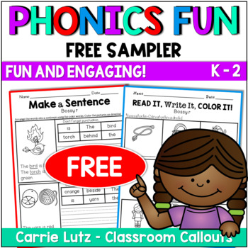 Free Phonics Worksheets {No Prep Printables}