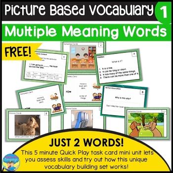 Multiple Meanings (A) Free Sampler