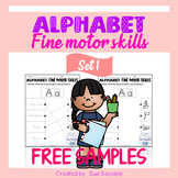 Free Samples Alphabet Fine Motor Skills Set 1