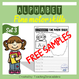 Free Samples Alphabet Fine Motor Skills Set 3