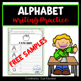 Free Samples Alphabet Writing Practice