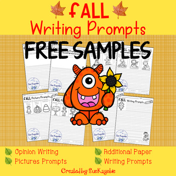 Free Samples Fall Writing Prompts