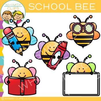 Free School Bee Clip Art