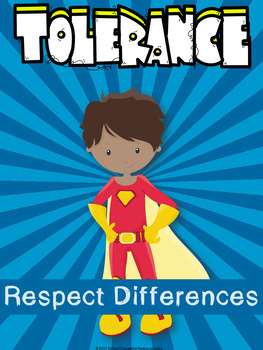Free School Counseling Superhero Values Display