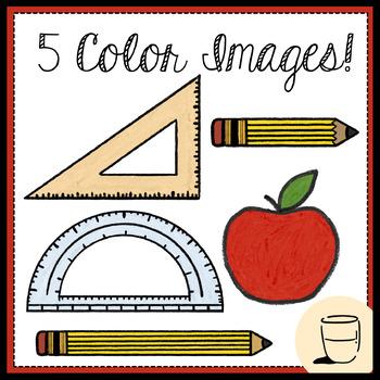 Free School Supplies Clip Art