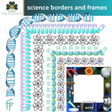 Free Science Frames And Borders Clip Art