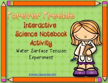 Free Science Interactive Notebook Activity