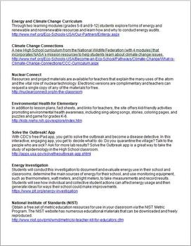 Free Science Resources November 2013