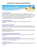 Free Science Teacher and Student Internet Resources 3